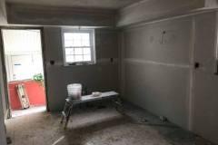 Rehab - drywall work in progress