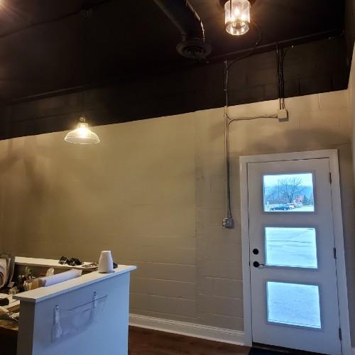 New front door lets in light